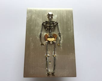 Skeleton made from Watch Parts