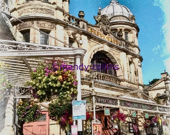 Buxton Opera House is a fine art print of this beautiful theatre in Derbyshire. Fine art photography by Mandy Collins