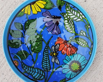 How Does Your Garden Grow? - Fused Glass