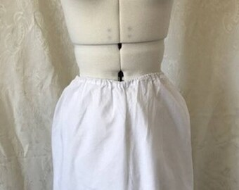 RARE! Matching set! Vintage Antique late Victorian/ Edwardian Pantaloon Bloomers. 100% cotton and lace late 19th/ early 20th Century #5