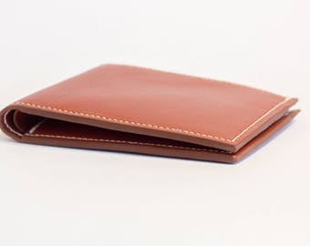 60% sale - Leather wallet - Men's leather wallet - Bifold leather wallet