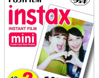 NEW Best Price! Fujifilm Instax Mini Instant Film Twin Pack (White) - FAST SHIPPING!!!