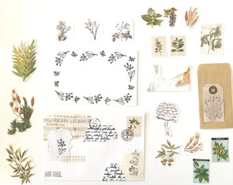 Natural Botanical Envelope