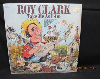 Roy Clark Take Me As I Am  - Hilltop Records