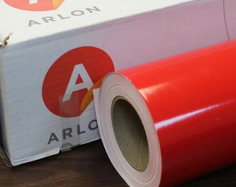 "Red Arlon 5000 12"" x 10' Roll * Sign Vinyl * Decal Vinyl"