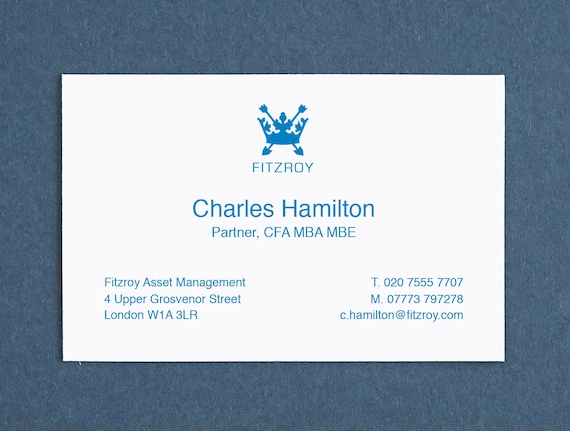 Printed name cards custom made business cards personalised colourmoves Choice Image