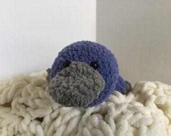 Crocheted Platypus