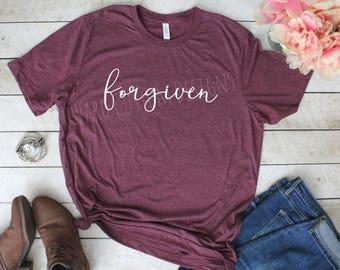 Forgiven T-Shirt | Forgiven Tee | Forgiven Boutique Shirt | Boutique Tee