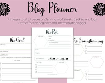 Blog Planner (Second Edition)