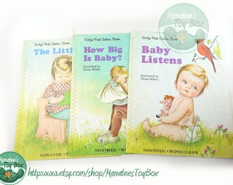 Vintage Eloise Wilkin Baby Books Set of 3 Softcover 1980s