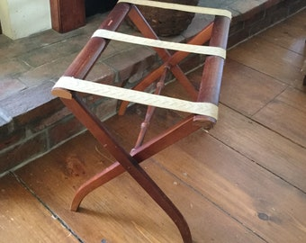 Vintage Folding Luggage Stand,Luggage Stand,Suitcase Stand