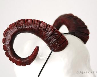 Ram horns - size L