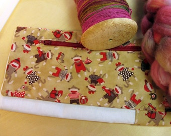 Lap Thing - Spinners Tool - Sock Monkeys at Play