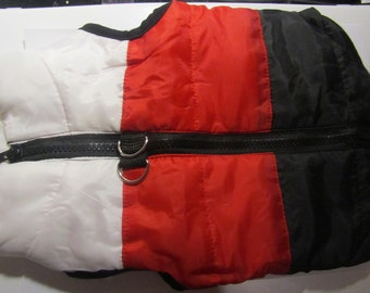 mini coat down jacket for all small dogs (size M)