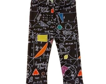 Math Leggings/Pants - Nerdy Baby Leggings - Nerdy Kids Leggings - Nerdy Toddler Leggings