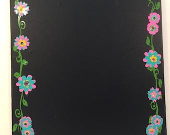 Chalkboard Message Center Teacher Appreciation/Bridesmaid/Birthday Gift