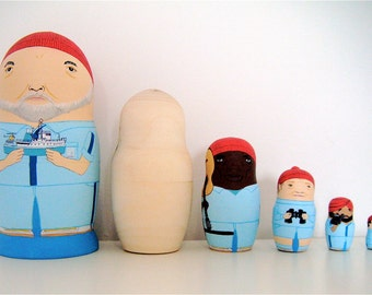 Life Aquatic with (insert name here) Matryoshka Dolls