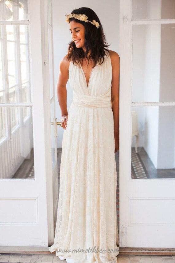 Boho Bohemian dress dress wedding bohemian lace dress gown lace wedding wedding gown lace lace bridal bridal bohemian wedding dresses CAwqxS4w