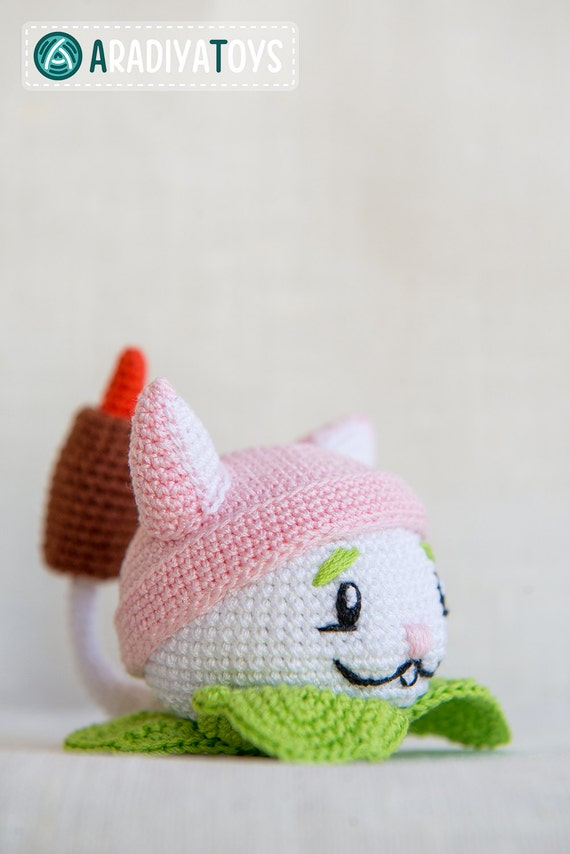 Crochet Pattern Of Cattail From Plants Vs Zombies