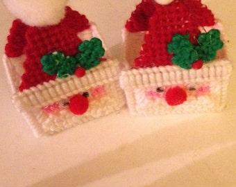 mini santa baskets