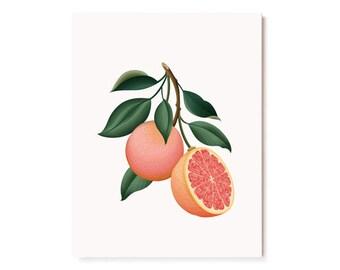 Botanical Scented Card - Grapefruit