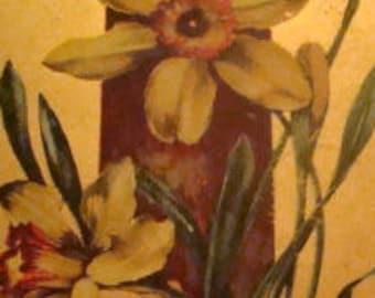 LAST CHANCE SALE NiceVintage/Antique Floral Postcard #1
