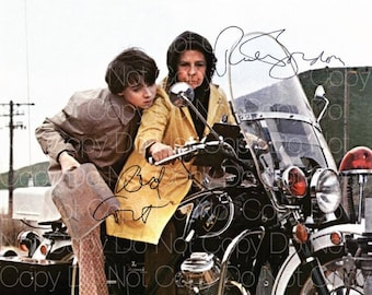 Harold and Maude signed 2 Bud Cort Ruth Gordon 8X10 photo picture autograph poster RP