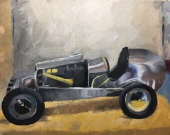painting of Midget Racer