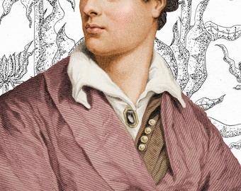 Lord Byron Print