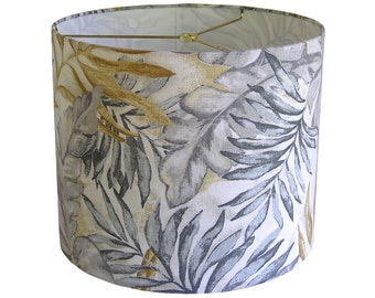 Lamp Shade Lampshade Pendant Monsoon Leaf by Robert Allen at Home Greystone Made to Order