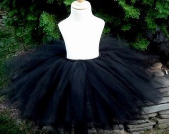 RTS Jet Black Adult Tutu Medium 14 inch