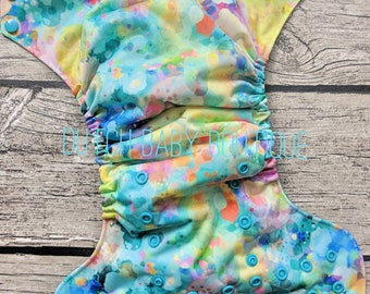 Confetti Glass Cloth Diaper - Made To Order