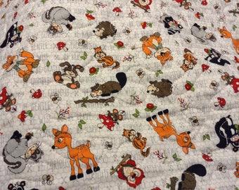 Woodland Critters Lap Quilt