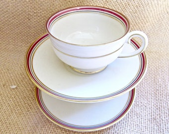Expresso Cups and Saucers Porcelain - Suisse Langenthal - Fine china expresso cups - Coffee cups