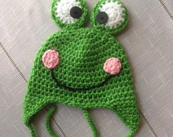 Frog Hat Adult Size