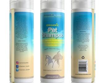 Organic Pet Shampoo 16 oz