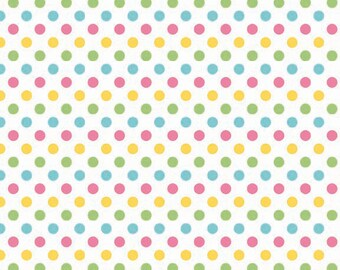 Riley Blake Designs, Small Dots in Girl (C350-03)