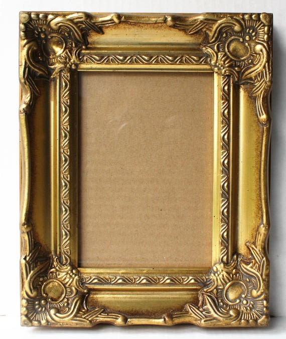 Baroque Gold Picture Frames Wedding Table Number Frames 5x7