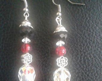 Crytsal Beaded Earrings