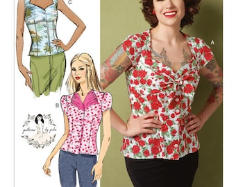 Top sewing pattern Butterick B6217