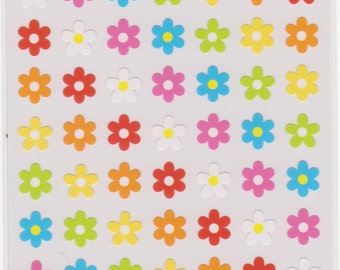 Flower Stickers - Japanese Stickers - Reference A5611