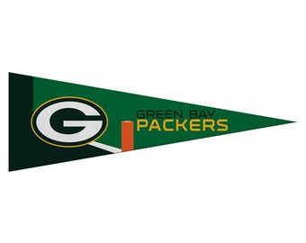 """Green Bay Packers kleine NFL Wimpel, 5 """"x 15"""""""