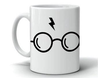 Harry Potter Glasses Mug |  Coffee Cup | Original Mug | Perfect Gift | Muggle Design