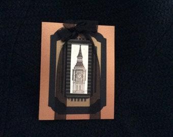 Big Ben England Card Travel