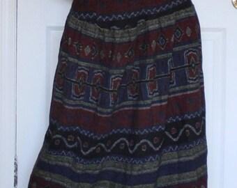 Neiman Marcus long knit skirt