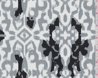Kina Cool Grey Duck Canvas, Fabric By The Yard
