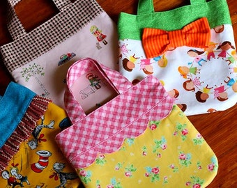 Blossom Mini Tote Bag PDF Sewing Pattern