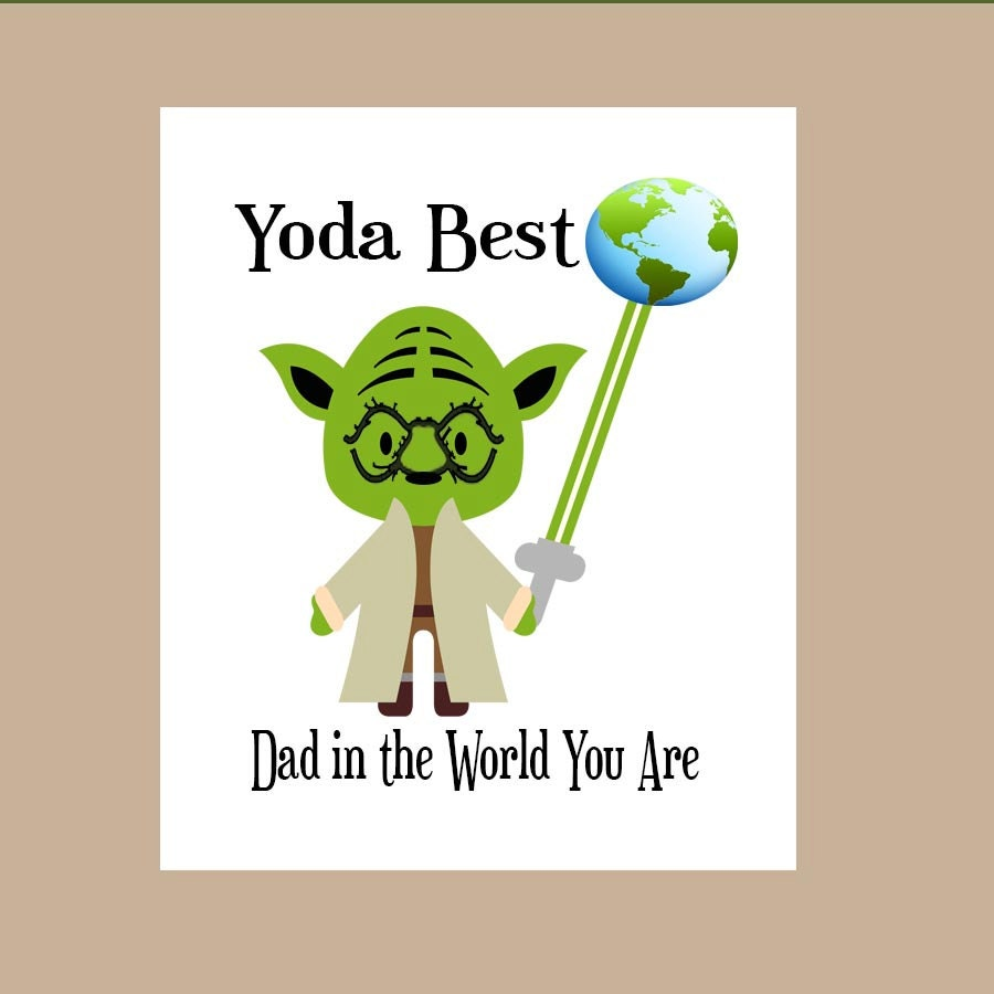 Star wars dad birthday card star wars fathers day card zoom bookmarktalkfo Choice Image