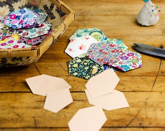 DIY English Paper Piecing Templates, Wise Craft Quilts