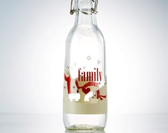 Family Love Bottle
